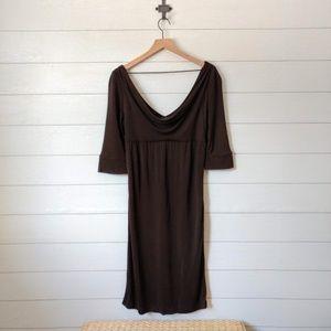 Diane von Furstenburg Drape Neck Sheath Dress